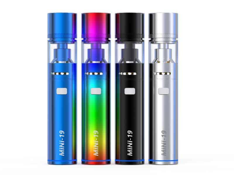 sigaretta elettronica jadam mini-19 Sigaretta Elettronica Jadam Mini-19 Mini 19 Jadam Colori