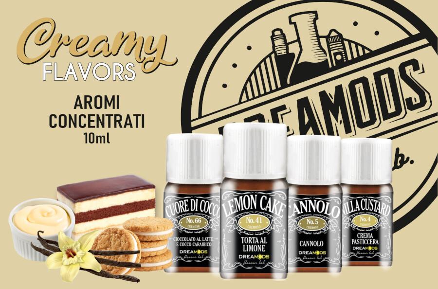 dremods aromi cremosi dreamods Dreamods Aromi Concentrati e Shot Series aromi cremosi