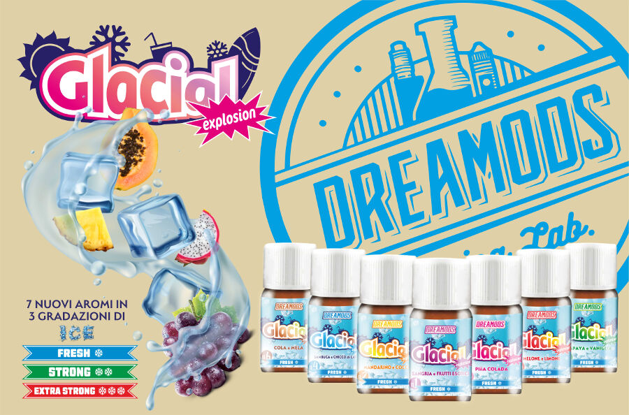 dremods aromi glacial dreamods Dreamods Aromi Concentrati e Shot Series aromi linea glacial explosion