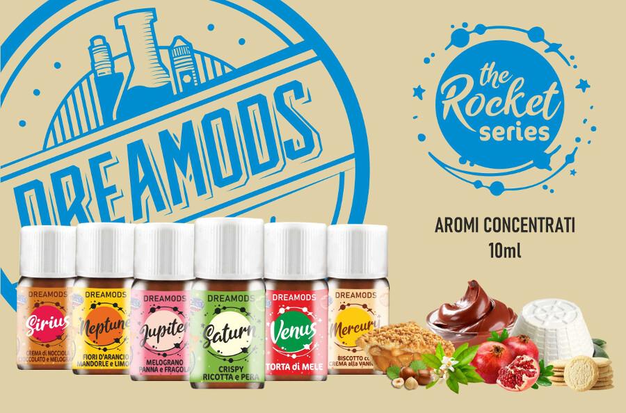 dremods aromi rocket dreamods Dreamods Aromi Concentrati e Shot Series aromi linea the rocket