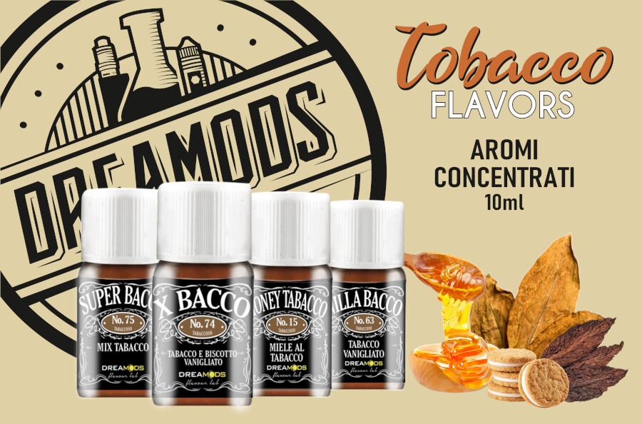 dremods aromi tabaccosi dreamods Dreamods Aromi Concentrati e Shot Series aromi tabaccosi